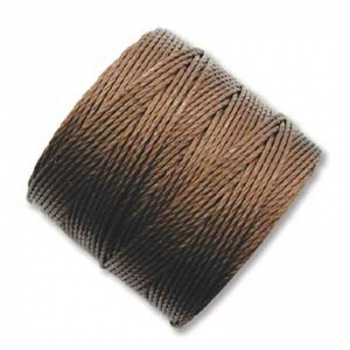 Super-Lon Bead Cord Brown