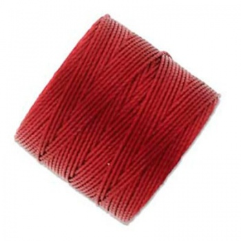 Super-Lon Bead Cord Red