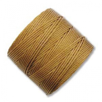 Super-Lon Bead Cord Gold