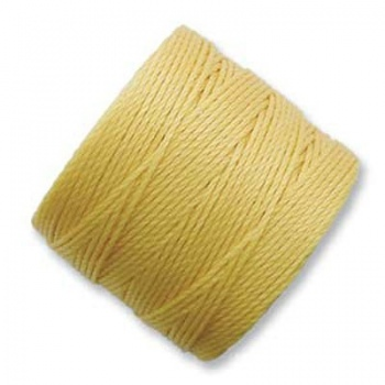 Super-Lon Bead Cord Light Gold
