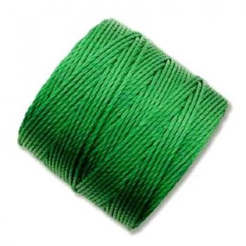 Super-Lon Bead Cord Green