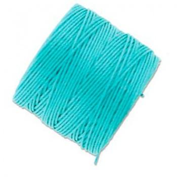 Super-Lon Bead Cord Aqua