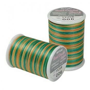 Filo Miyuki Crochet Earth Tone -Misura 0,45mm
