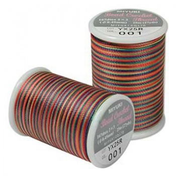 Filo Miyuki Crochet Rainbow -Misura 0,45mm