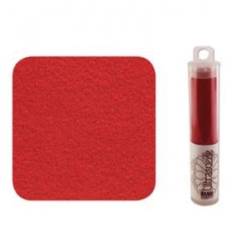 Ultra Suede Rosso Misura 21x10cm