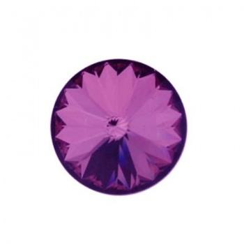 Rivoli Swarovski (1122)  Crystal Aqntique Pink Con Foiled 14mm
