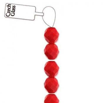 Mezzi Cristalli Preciosa Red 6mm
