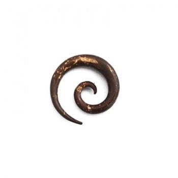 Piercing Dilatatore Spirale Cocco 6mm