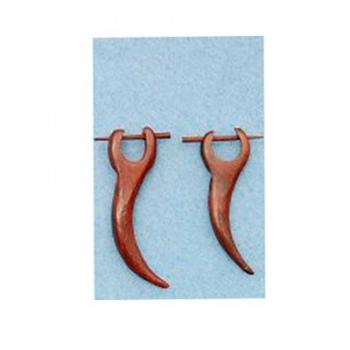 Piercing Orecchino Legno