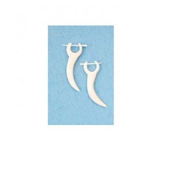 Piercing Orecchino Osso Bianco