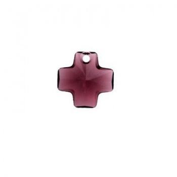 Croce Swarovski (6866)  Amethyst 20mm