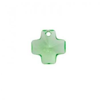 Croce Swarovski (6866) Peridot 20mm