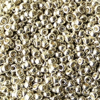 Perline Rocailles Miyuki 11/0  Galvanized Silver