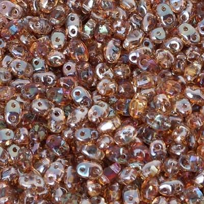 Perline Miniduo Crystal Celsian 4x2mm