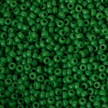 Perline Rocailles Miyuki 11/0 Opaque Jade Green