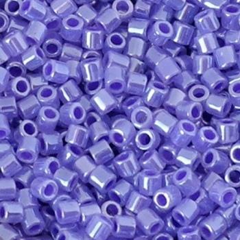 Perline Delica Miyuki 8/0 Color Lined Purple Crystal Luster
