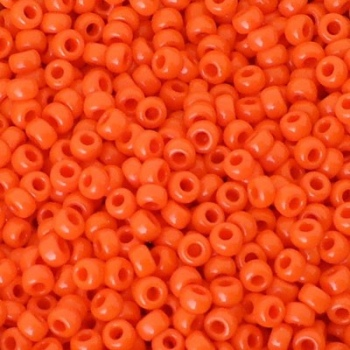 Perline Rocailles Miyuki 8/0 Opaque Orange