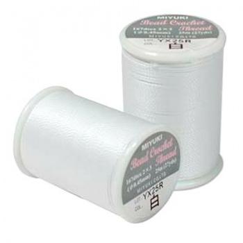 Filo Miyuki Crochet White Misura 0-45mm