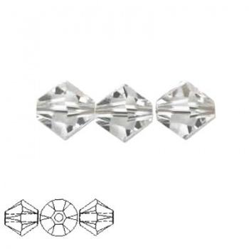 Bicono Swarovski Crystal 3mm