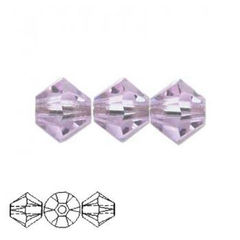 Bicono Swarovski  Violet 3mm