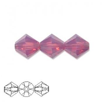 Bicono Swarovski Cyclamen Opal 3mm