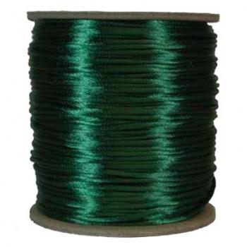 Cordoncino Coda Di Topo Dark Green 2mm-Prima Scelta