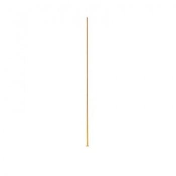 Chiodino Testa Piatta Dorato 25mm Diametro 0,73mm
