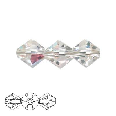 Bicono Swarovski Crystal AB 3mm