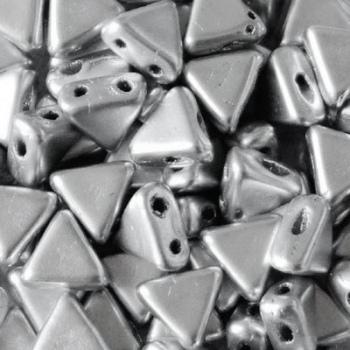 Perline Kheops® par Puca® 6mm Silver Aluminium Matte