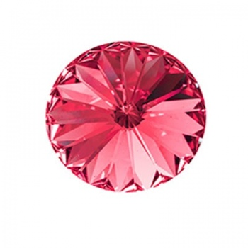 Rivoli Swarovski (1122) Rose Con Foiled 14mm