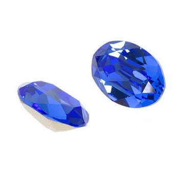 Cabochon Ovale Swarovski (4120) 14x10mm Sapphire