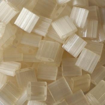 Perline Tila Miyuki Ivory Mist 5mm