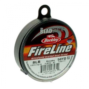 Filo Fireline Smoke Grey Misura 0,20mm