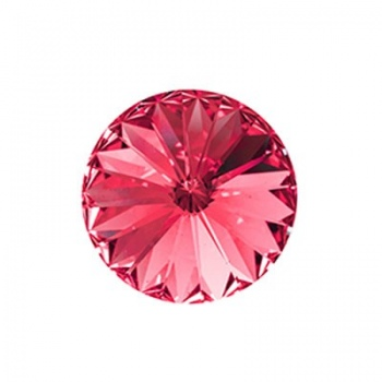 Rivoli Swarovski (1122)  Rose Con Foiled 12mm
