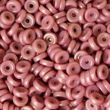 Perline Wheel-Ruby Luster-6mm
