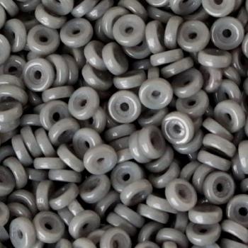 Perline Wheel-Chalk Jet Luster-6mm