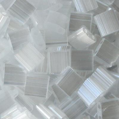 Perline Tila Miyuki Crystal Silk Satin 5mm