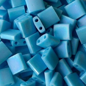 Perline Tila Miyuki Matte Opaque Turquoise 5mm