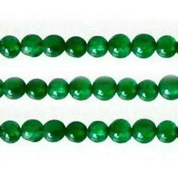 Giada Colorata Verde Tondo Liscio 2mm