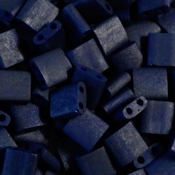 Perline Tila Miyuki Matte Opaque Cobalt 5mm