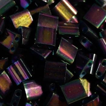 Perline Tila Miyuki Bronze Metallic Iris 5mm