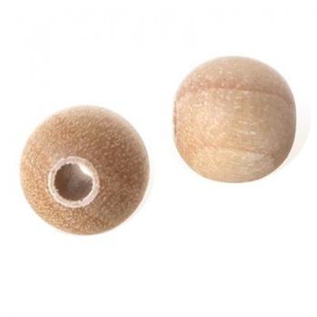 Pallina Tonda Legno Naturale Da Rivestire 20mm