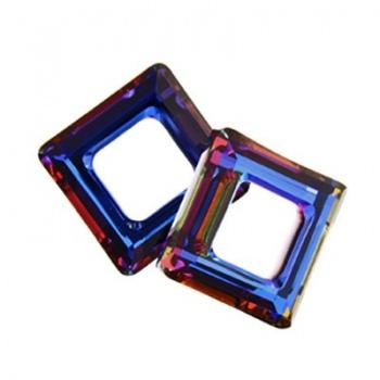 Square Ring (4439) Svarovski Crystal Volcano 14mm
