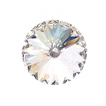 Rivoli Swarovski (1122) Crystal Con Foiled 18mm