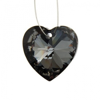 Cuore Swarovski (6228) Crystal Silver Night 10mm