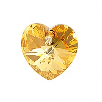 Cuore Swarovski (6228) Metallic Sunshine Crystal 10mm