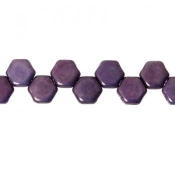 Perline Honeycomb Purple Vega 6mm