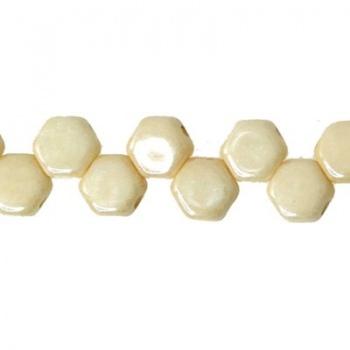 Perline Honeycomb Pastel Beige 6mm