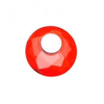 Victory Swarovski (6041) Crystal Red Magma18mm