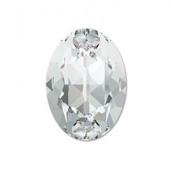 Cabochon Ovale Swarovski (4120) 18x13mm Crystal